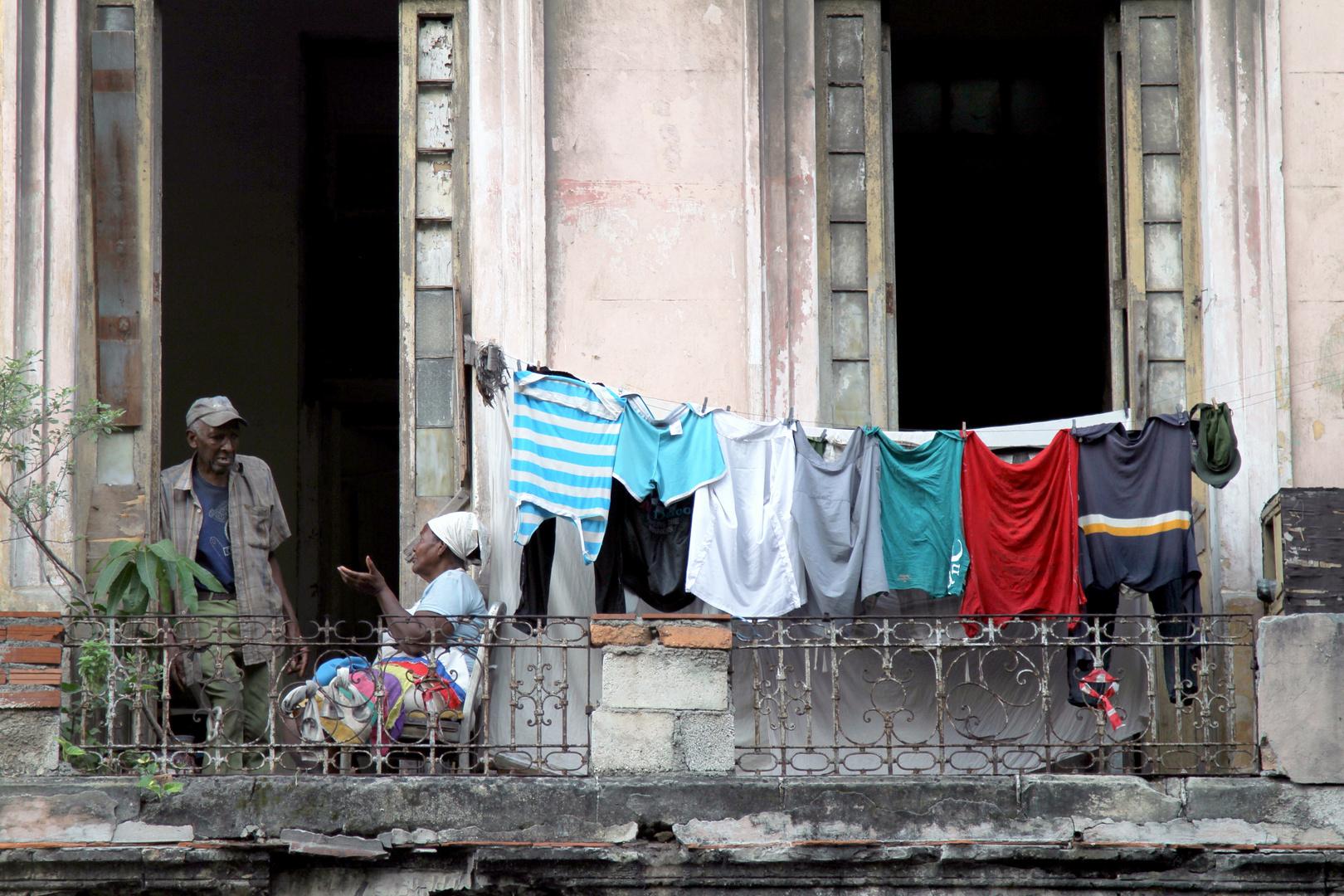 Balkon in Kuba