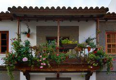 Balkon in Teror, Gran Canaria