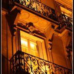 Balkon & Licht & Kopf
