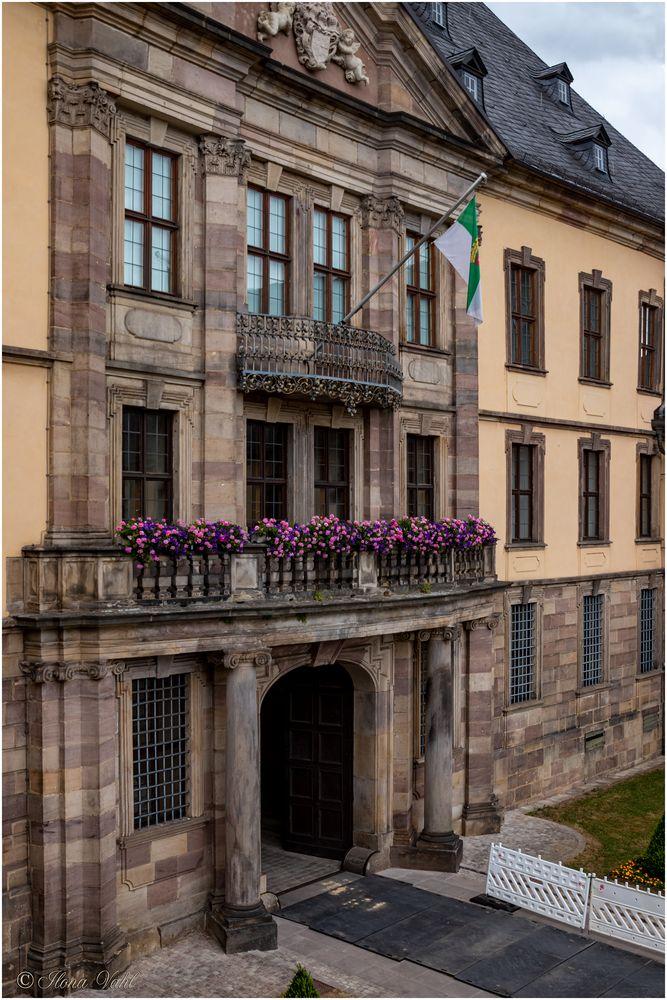 Balkon, Schloss