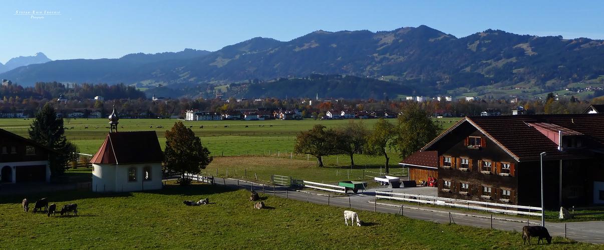 """Balkonblick bei Burgberg-Winkel 2"""
