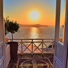 Balkonblick bei Santorini