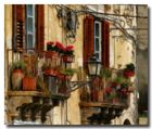 Balkone auf Sizilien
