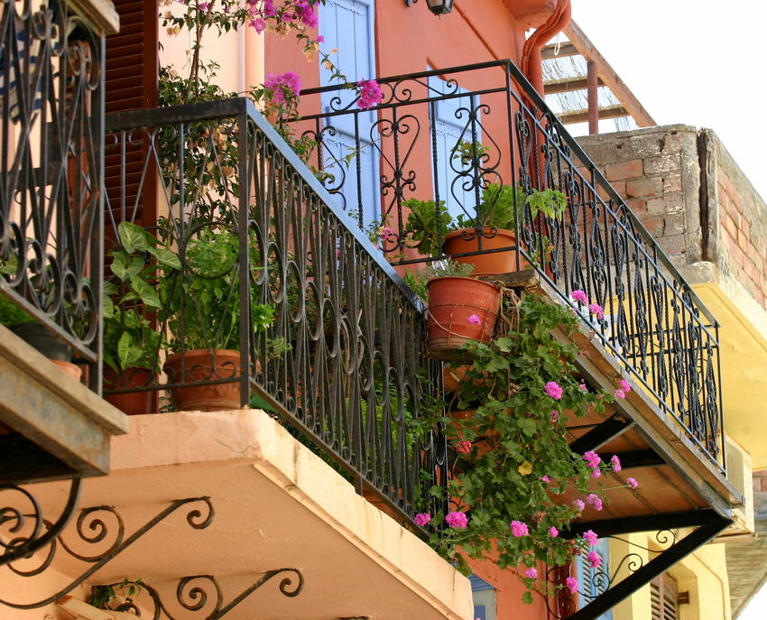 Balkon(e) in Chania