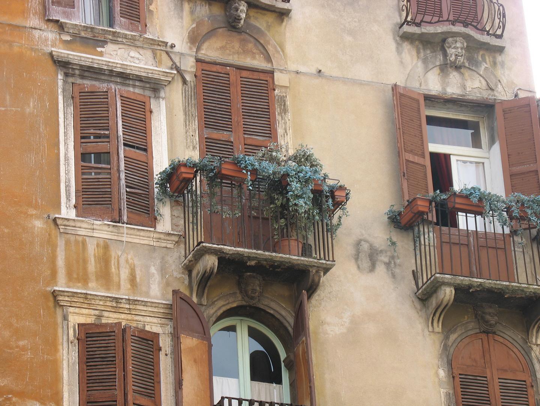 Balkone in Verona