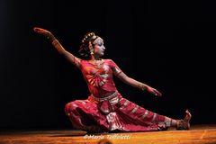 Ballerina di Kuchipudi