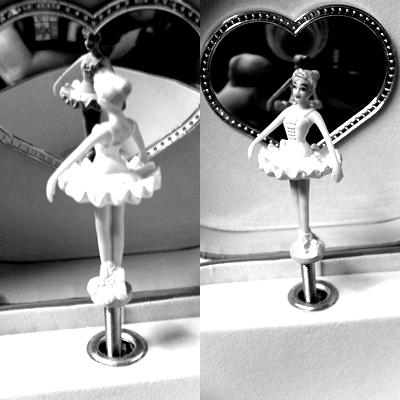 Ballerina.. guck dich an und sag mir, bist du zufrieden damit, wie du bist ?