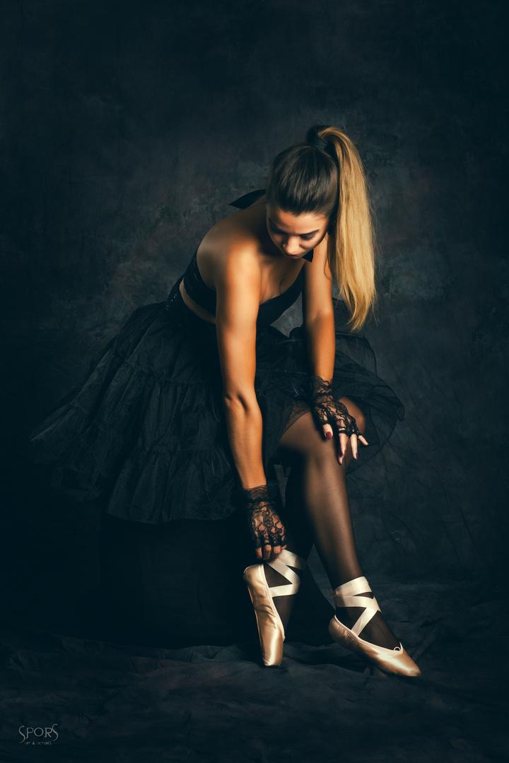 ballerine noire