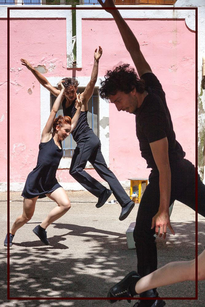 Ballet Preljocaj from Aix-en-Provence. FR,