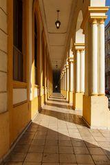 Ballettschule Havanna - Säulengang