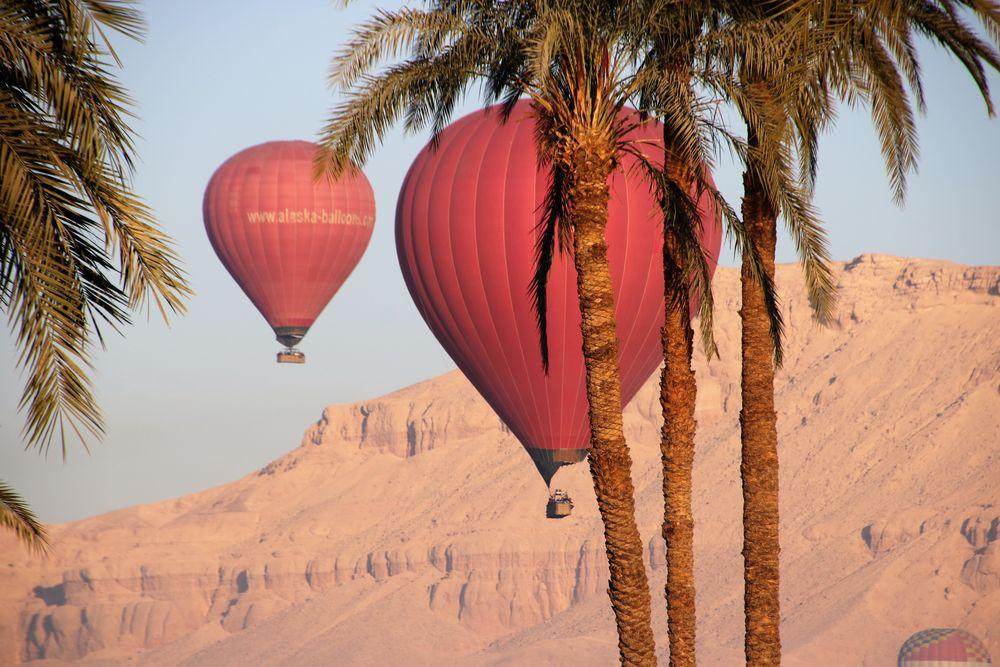 Ballon Palme egypt-17col