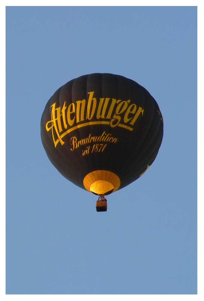 Ballon über Altenburg