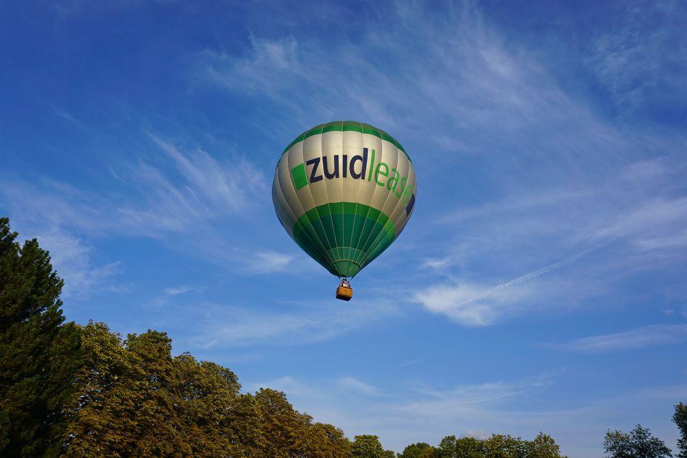 Ballon über Heerlen