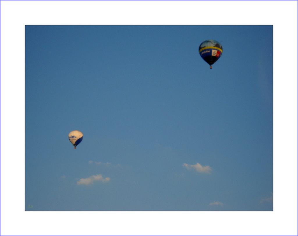 Ballon vom Balkon...