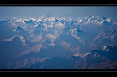 Ballonfahrt am Alpenrand VIII