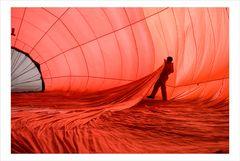 Ballonfahrt am Chiemsee I