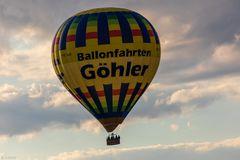 Ballonfahrt in den Sonntagabend (2)