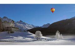 Ballonfahrt in St. Moritz