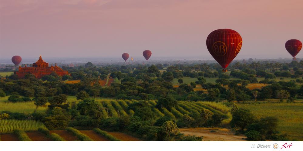 Ballonfahrt über Bagan 09