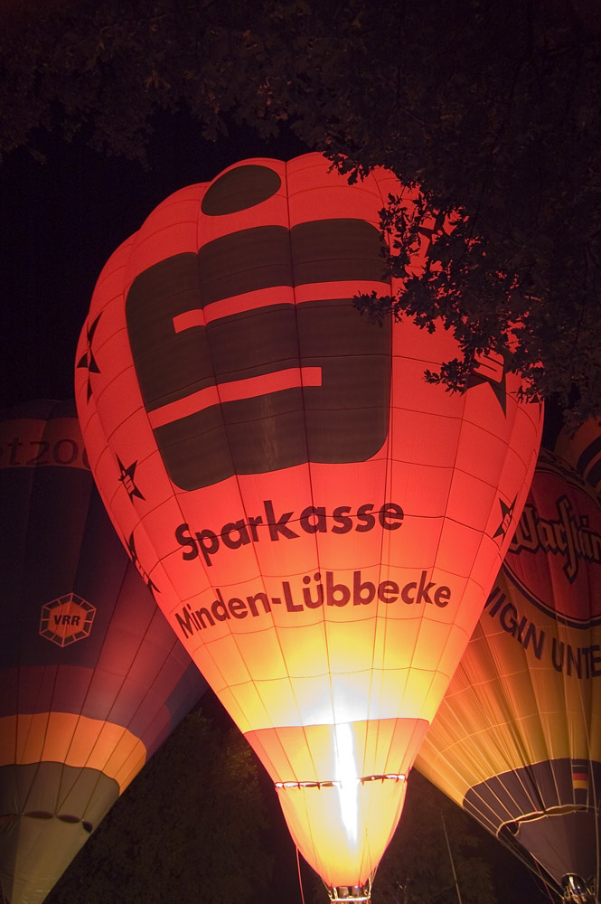 Ballonfestival in Moers am 15.09.07