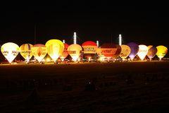 Ballonfestival Köln Freitag Abend Nightglow2