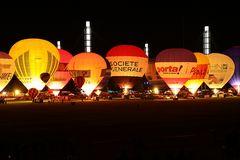 Ballonfestival Köln Freitag Abend Nightglow3