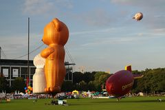 Ballonfestival Köln Freitag Nachmittag 3