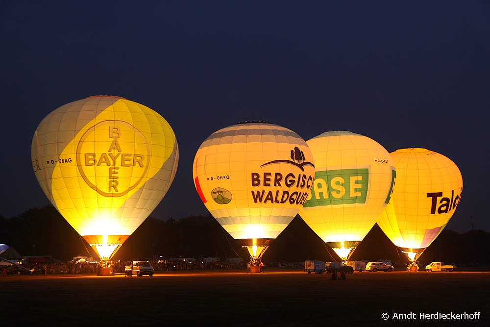 Ballonglühen in Hilden