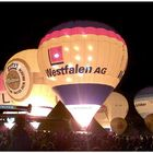 Ballonglühen in Münster am Aasee