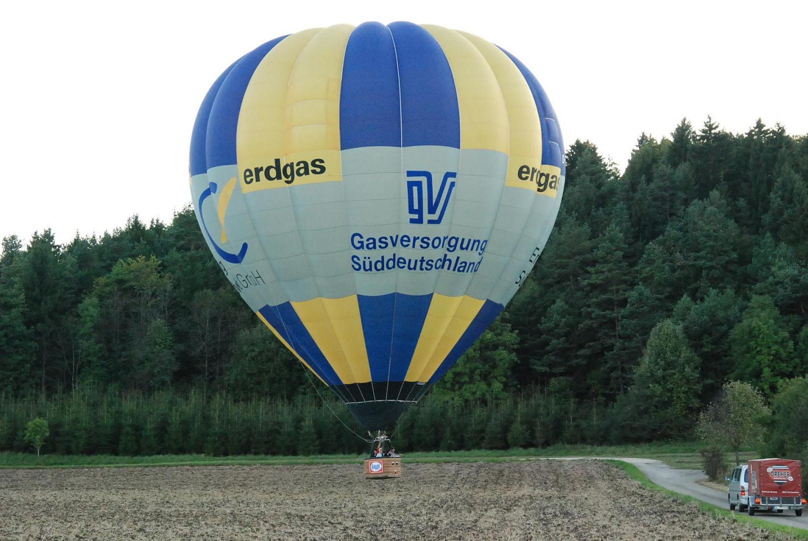 Ballonlandung in Wilsingen 2010.09.11 III