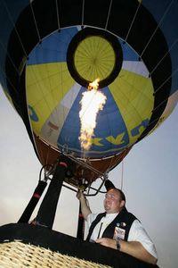 Ballonpilot Stefan Wälchli