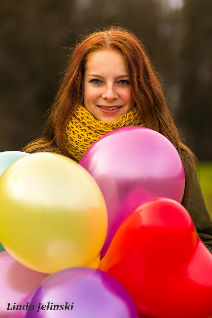 Balloon Girl III