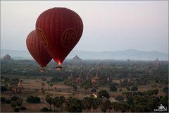 """Balloons over Bagan"" (02)"