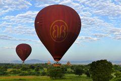 ...Balloons over Bagan...