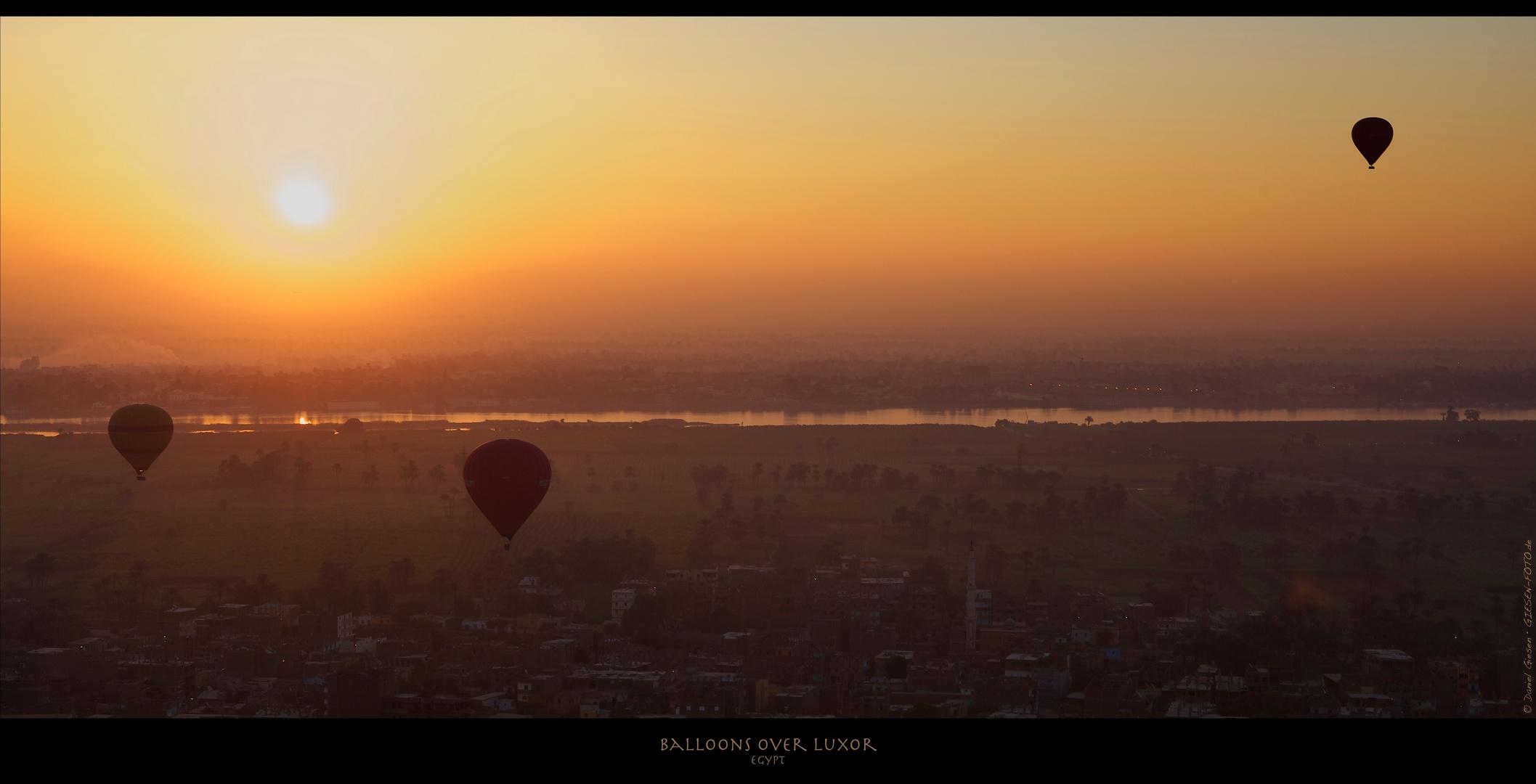 Balloons over Luxor 05, Egypt 2011
