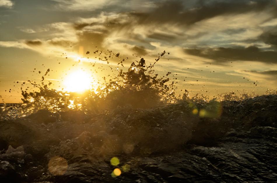 Baltic sunset III