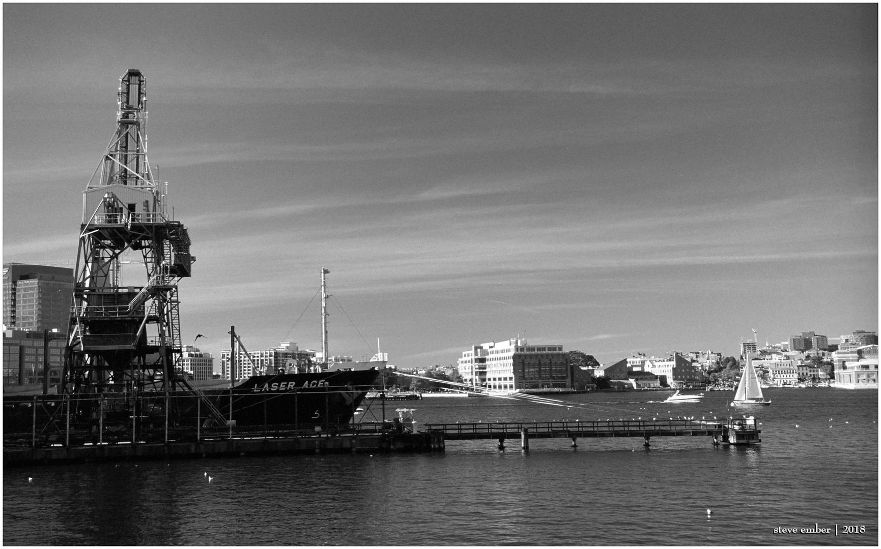 Baltimore Harbor - At Work and At Play