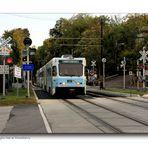 Baltimore Light Rail at Woodberry