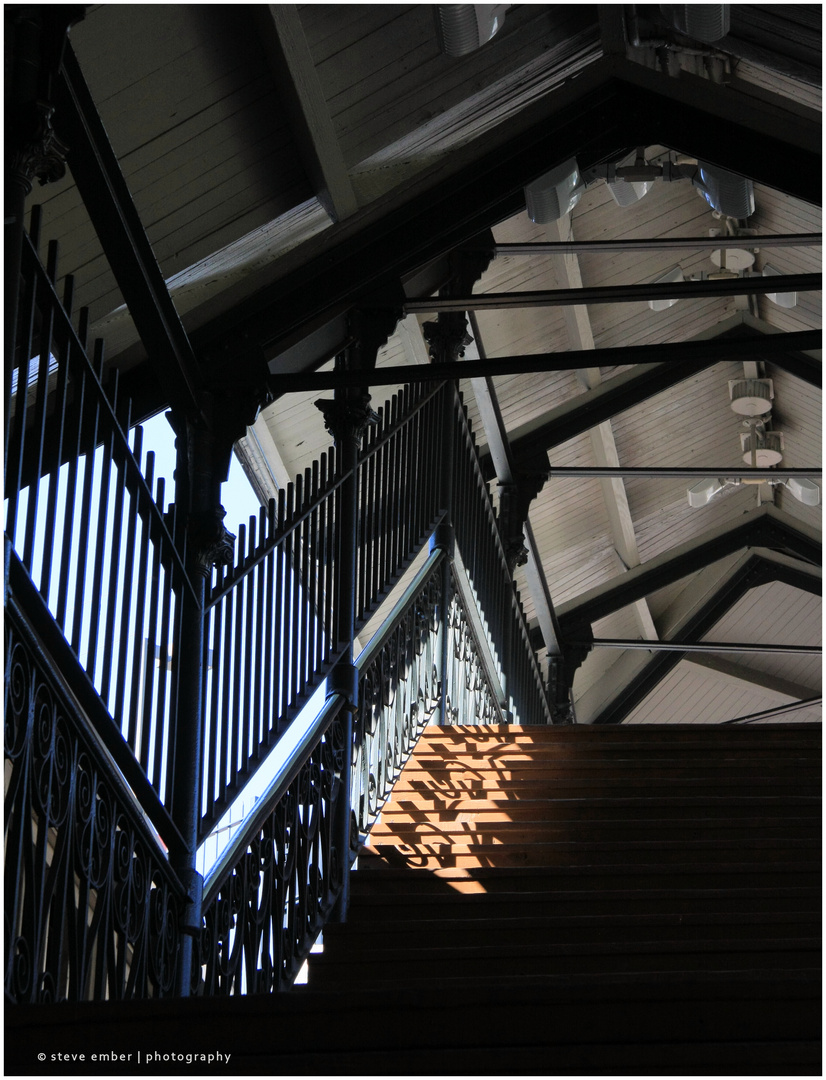 Baltimore No.11 - Mount Royal Station Train Shed Stairs