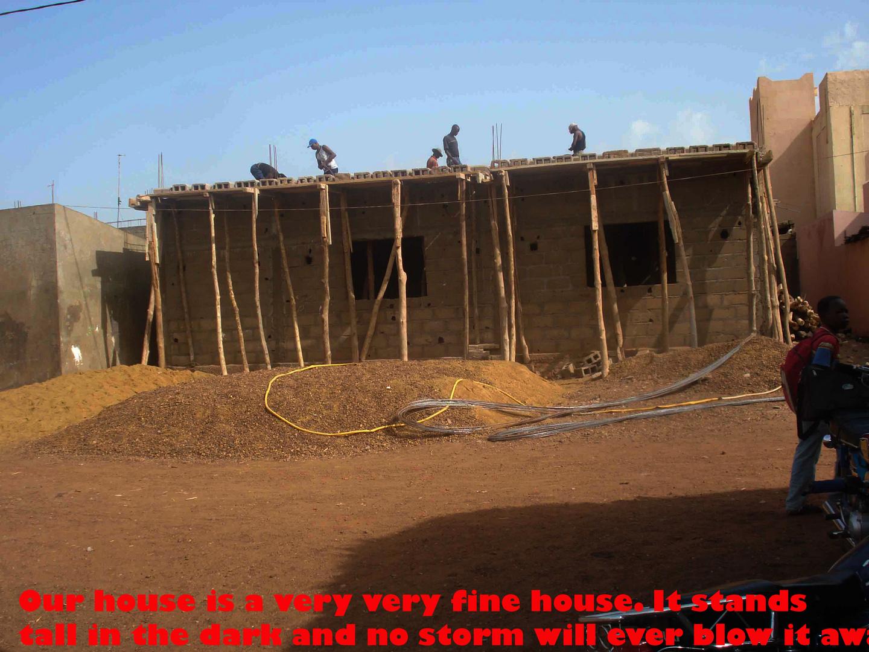 Bamako our house