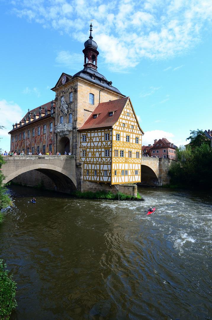 Bamberg, Alte Rathaus, old city hall, ayuntamiento viejo,