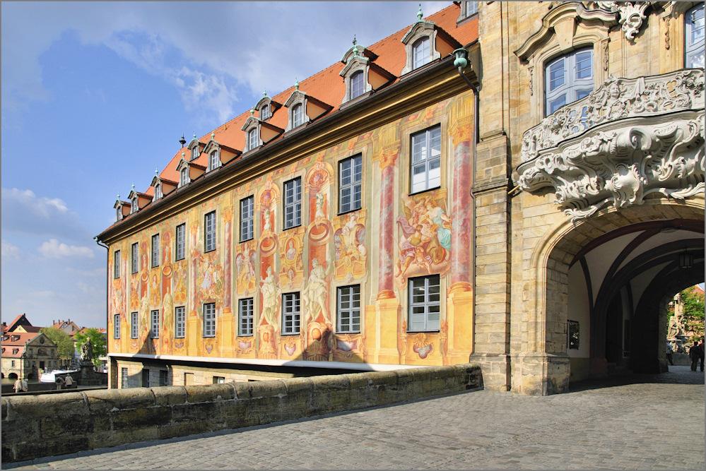 Bamberg - Am Alten Rathaus