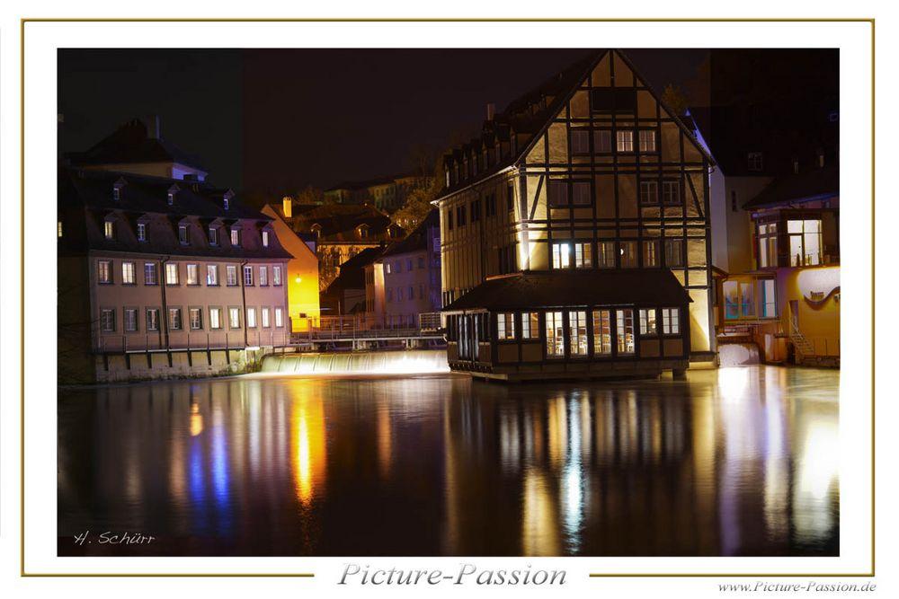 Bamberg bei Nacht