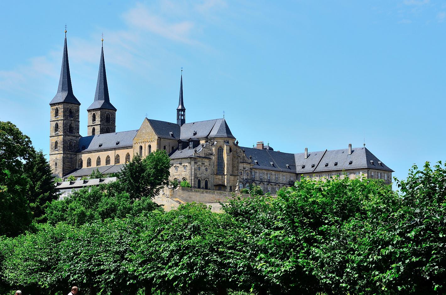 Bamberg, Kloster, monastery, Monasterio, St. Michael