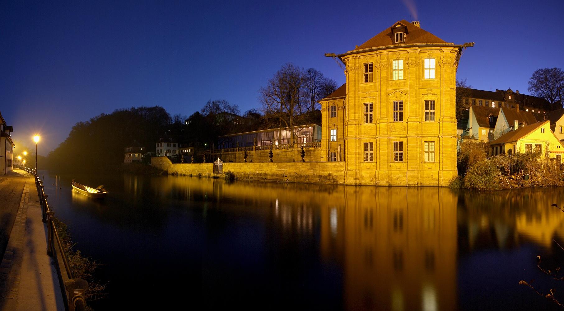 Bamberg, Wasserschloss Concordia 11-2011