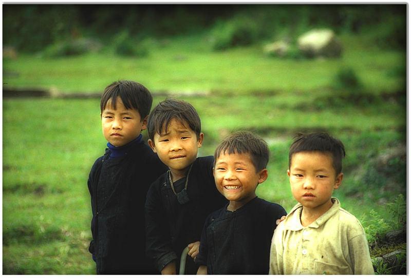 Bambini del Vietnam