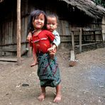 Bambini laotiani