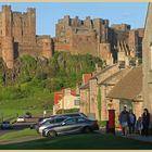 Bamburgh castle and village 3