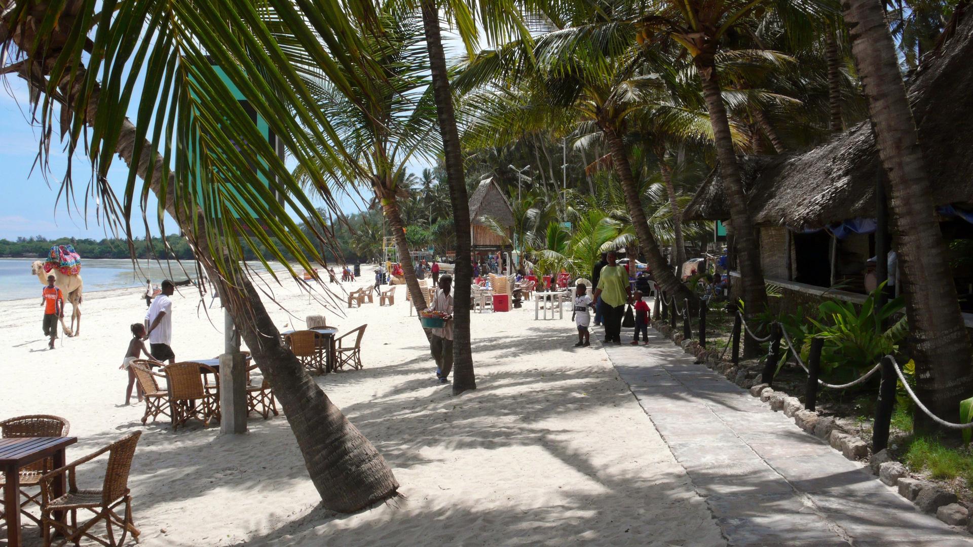 Bamburi Beach Mombasa