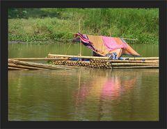Bambusflösser